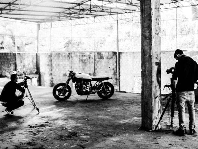 Honda CB 900 by Bullitt Garage